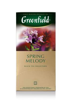 Чай черный Greenfield spring melody 25 пакетиков