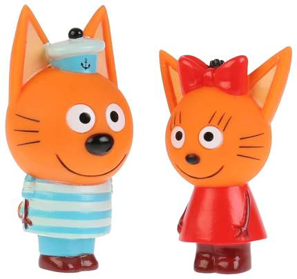Набор из 2-х игрушек для ванны Три кота. Коржик и Карамелька
