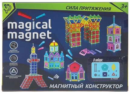 Конструктор магнитный Необычные фигуры, 50 деталей Sima-Land