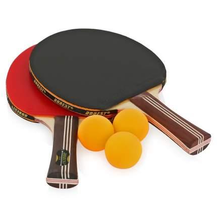 Набор для настольного тенниса DoBest BB01 (2 ракетки + 3 мяча) Любительский BB01