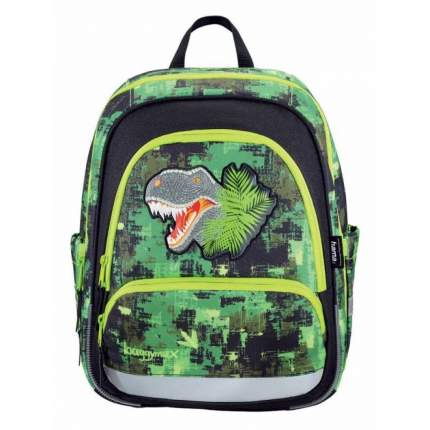 Рюкзак детский Hama 138536 BaggyMax Speedy - Green Dino, без наполнения 430104