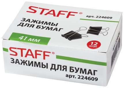 Зажимы для бумаг STAFF 224609 12 шт
