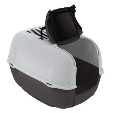 Туалет для кошек Ferplast Prima, прямоугольный, в ассортименте, 52,5х39,5х38 см