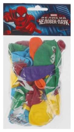 Шар латексный Latex Occidental Марвел Человек-паук, пастель+декоратор, набор 25 шт.
