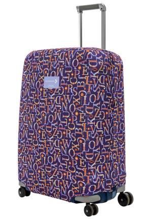 Чехол для чемодана Routemark Мирта ART.LEBEDEV by SP500 M/L синий
