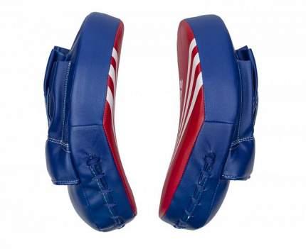 Лапы Adidas Focus Mitt Short Eco сине-красные