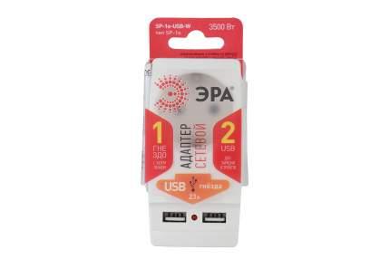Переходник сетевой ЭРА Polynom SP-1e-USB-W Б0026332