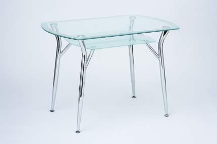 Кухонный стол Hoff 75х105х70 см, серебристый