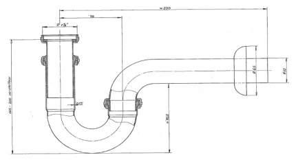 Сифон для раковины IDEAL STANDARD A2305AA