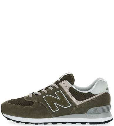 Мужские кроссовки New Balance ML574EGO/D хаки/серые 44.5