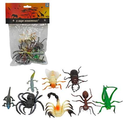 Фигурка 1 TOY В мире животных насекомые 10 шт Т53857