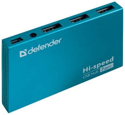 Разветвитель для компьютера Defender SEPTIMA Slim (83505)