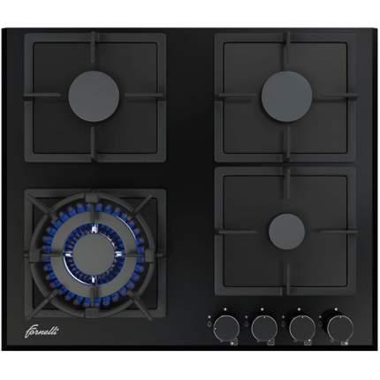 Встраиваемая варочная панель газовая Fornelli PGA 60 QUADRO BL Black