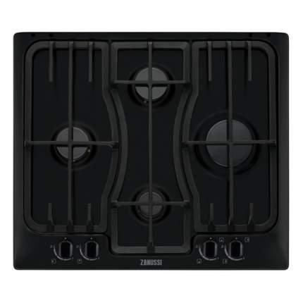 Встраиваемая варочная панель газовая Zanussi ZGX566414B Black