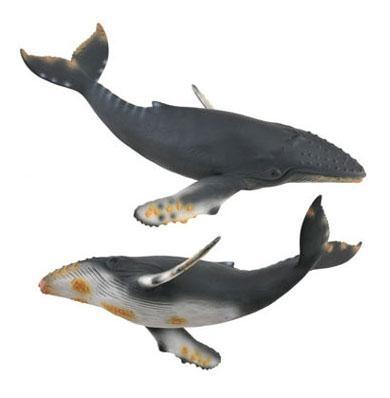 Фигурка collecta горбатый кит xl