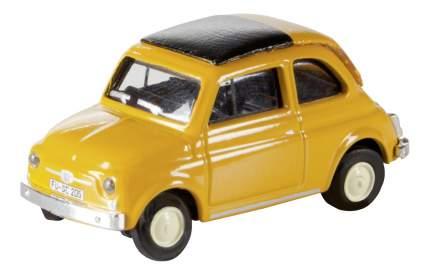 Автомобиль Schuco Fiat 500 оранжевый 1:87