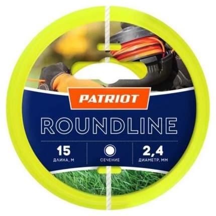 Леска для триммера PATRIOT Roundline D 2,4 мм L 400 м 805201021