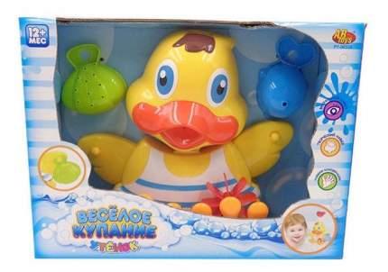 Веселое купание. утенок-мельница для ванной pt-00538