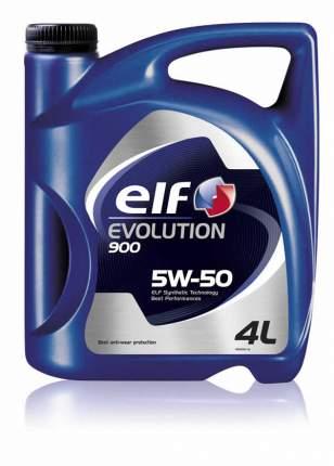 Моторное масло elf Evolution 900 5W-50 4л