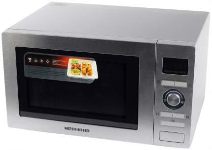 Микроволновая печь с грилем и конвекцией REDMOND RM-2502D silver