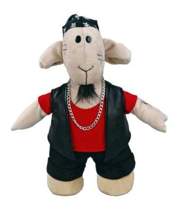 Мягкая игрушка Fluffy Family Овечки челОвечки Рокер 30 см