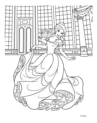 Альбом для рис, и раскрашивания disney, принцесса