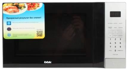 Микроволновая печь соло BBK 20MWS-729S/BS черно-серебристый