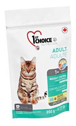 Сухой корм для кошек 1st choice Weight Control, для стерилизованных, курица, 0,35кг