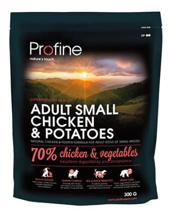 Сухой корм для собак Profine Adult Small Chicken & Potatoes, курица, 0.3кг