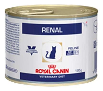 Консервы для кошек ROYAL CANIN Vet Diet Renal, курица, 12шт, 195г