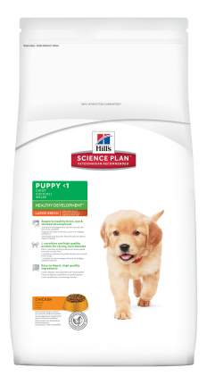 Сухой корм для щенков Hill's Science Plan Puppy Healthy Development Large, курица, 11кг