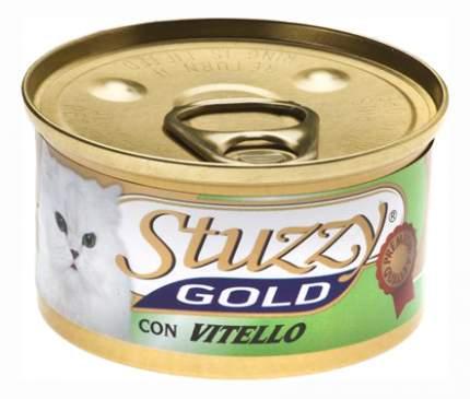 Консервы для кошек Stuzzy Gold, телятина, 24шт, 85г