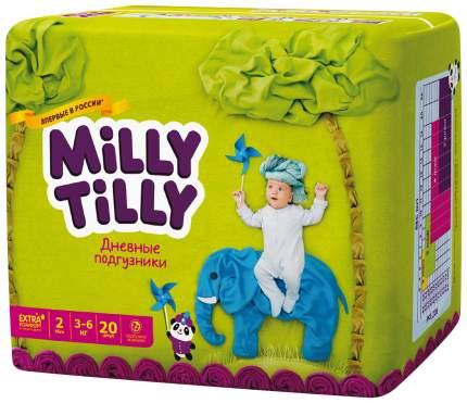 Подгузники для новорожденных Milly Tilly Mini 2 (3-6 кг), 20 шт.