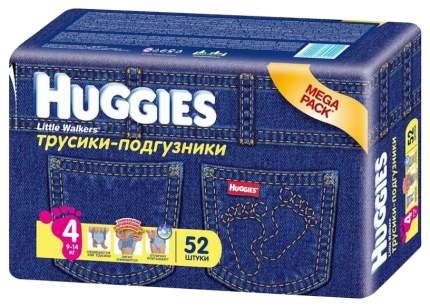 Подгузники Huggies Jeans Little Walkers Mega Pack 4 (9-14 кг), 52 шт.