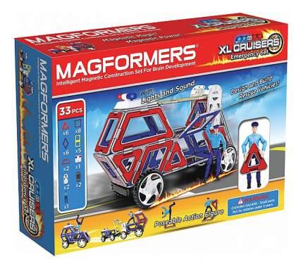 Магнитный конструктор Magformers XL Cruisers Службы спасения