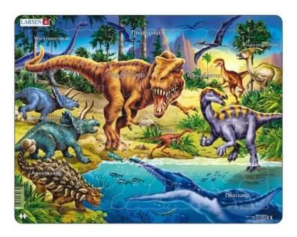Пазл Larsen Динозавры