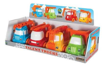 Машинка пластиковая Pilsan Talent Truks желтая