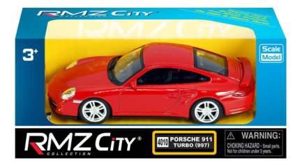 Коллекционная модель Uni-Fortune Porsche Carrera 911 красная 1:43