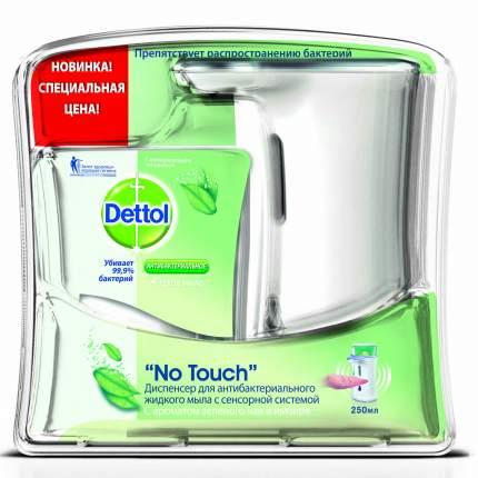 Жидкое мыло Dettol No Touch зеленый чай и имбирь (с запасным блоком) 250 мл