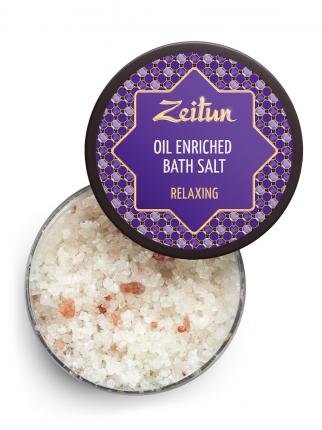Морская соль с эфирными маслами Zeitun