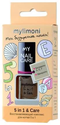 Средство для ухода за ногтями LIMONI MyLIMONI 5 in 1 & Care 6 мл