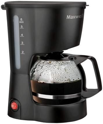 Кофеварка капельного типа Maxwell MW-1657 BK Black