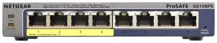 Коммутатор NetGear GS108PE-300EUS