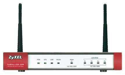 Маршрутизатор ZyXEL ZyWALL USG USG 20W Красный, серый