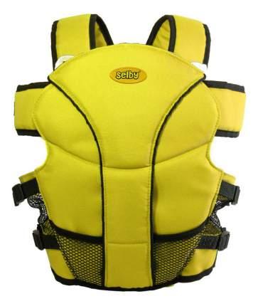 Рюкзак для переноски детей Тополь Selby Люкс желтый