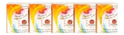 Бумажные салфетки Maneki sumi-e с ароматом фруктов 10 упаковок х 10 штук