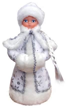 Кукла новогодняя Яркий праздник Снегурочка Белый 35 см