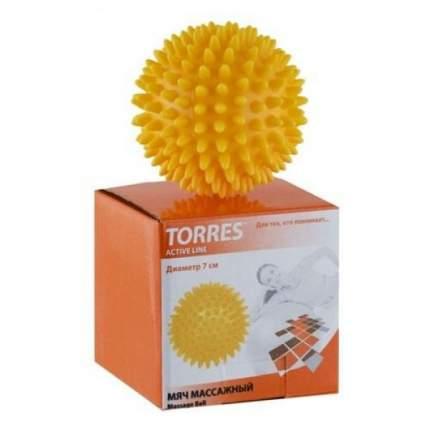 Гимнастический мяч Torres AL100607 желтый 7 см
