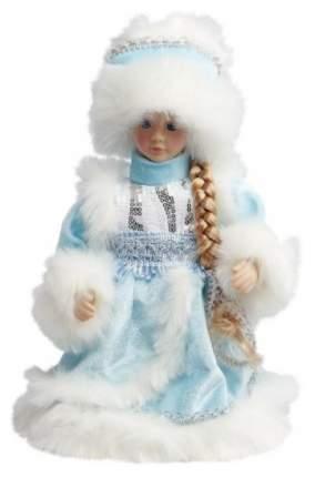 Кукла новогодняя Новогодняя сказка Снегурочка в голубом 30 см