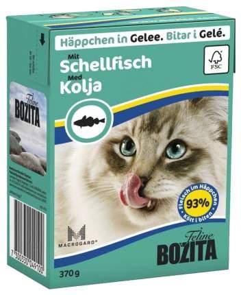 Влажный корм для кошек BOZITA Feline, морская рыба, 370 г 18 шт